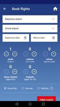 Adria Airways screenshot 1