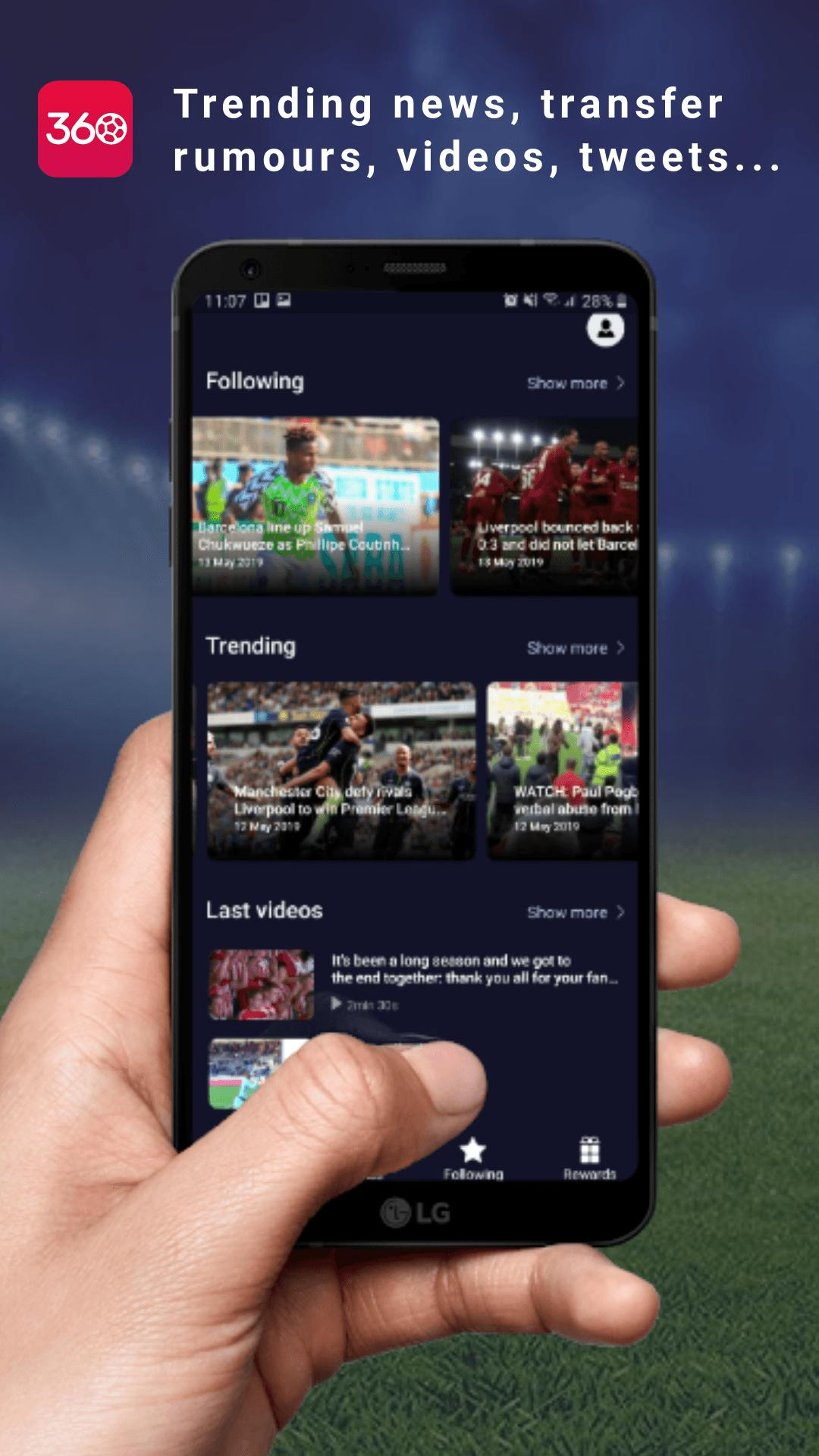 FAN360 - Top Football App for Android - APK Download