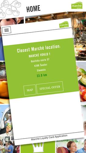 Marché Loyalty Card for Android - APK Download