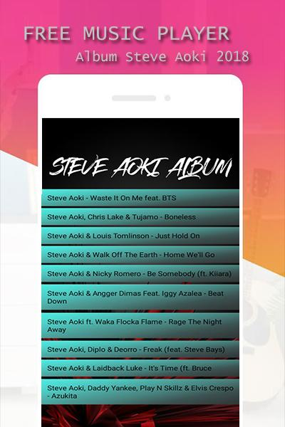 Fans Steve Aoki Waste It On Me For Android Apk Download