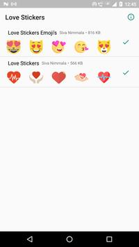 Love Stickers screenshot 4