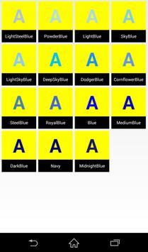 Color(Color code,Color chart) screenshot 3