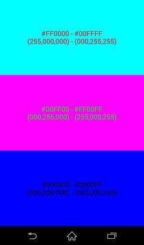 Color(Color code,Color chart) screenshot 1