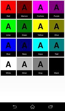 Color(Color code,Color chart) screenshot 2