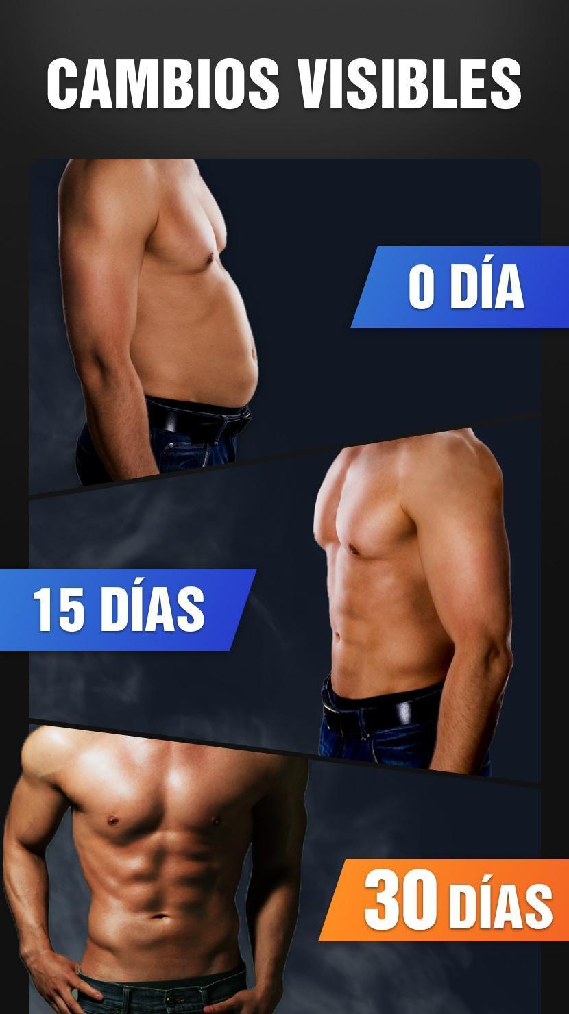 Abdominales en 30 días - Ejercicio de abdominales for Android ...