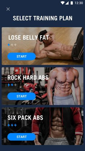 Six Pack en 30 jours pour Android   – fitness