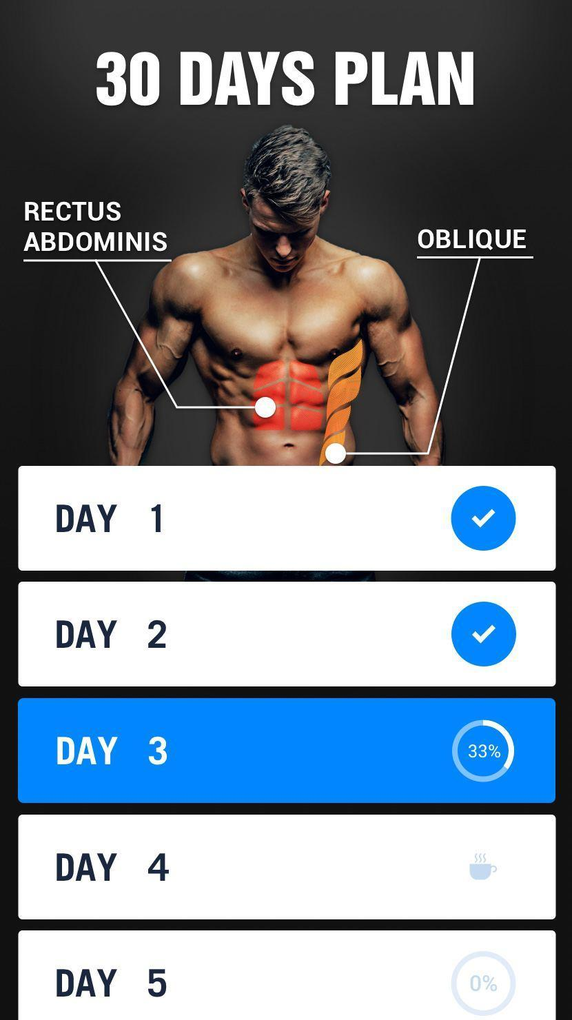 Six Pack In 30 Days For Android Apk Download