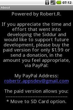 Siddur Sfaradi (Free Version) screenshot 5