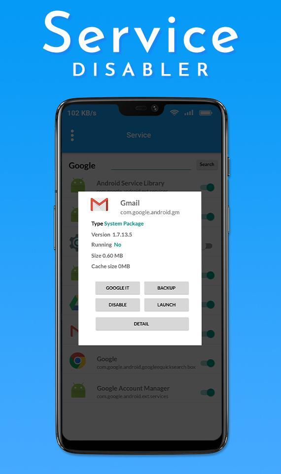 Service Disabler for Android - APK Download