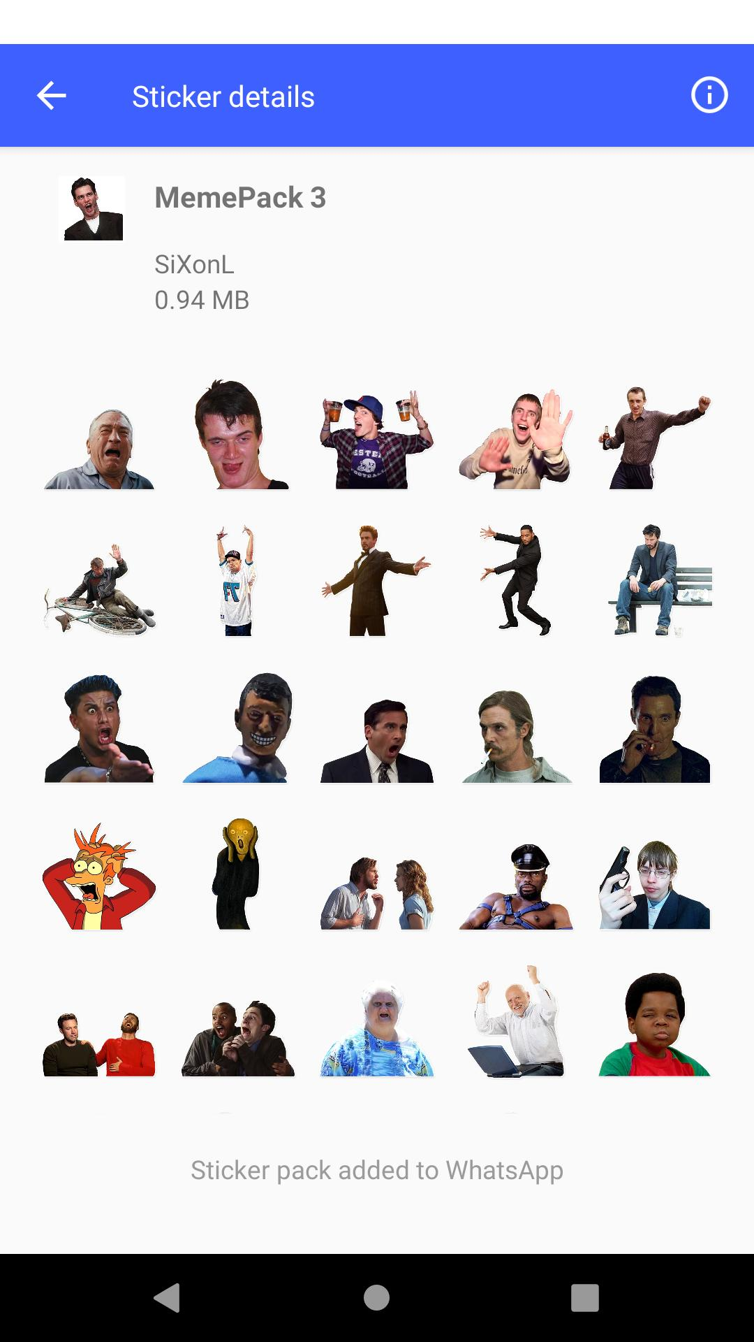 Meme Sticker Pack For Whatsapp For Android Apk Download