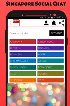 Singapore Social Chat - Meet and Chat screenshot 1