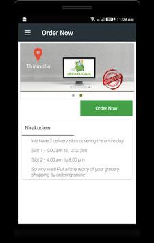 Nirakudam - Quality Delivered screenshot 1