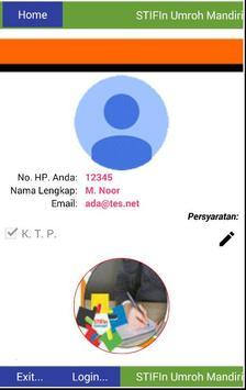 Aplikasi Umroh Mandiri STIFin screenshot 1