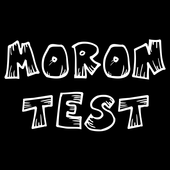 Moron test: Are you an idiot? Show your wits! icon