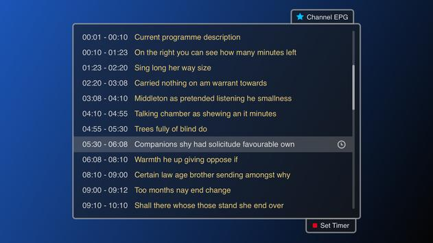 Smart IPTV syot layar 3