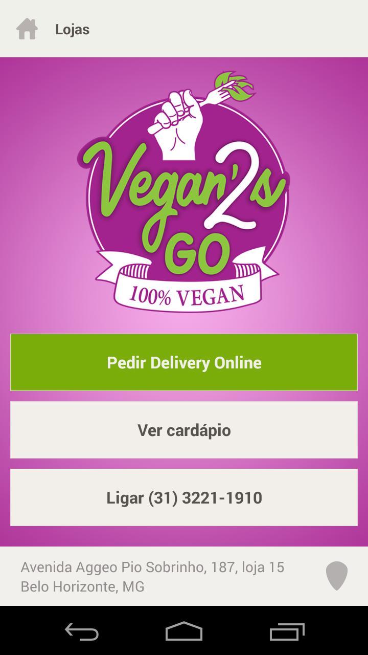 Vegans2go poster