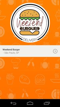 Weekend Burger poster