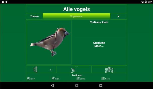 Vogels in Nederland screenshot 10