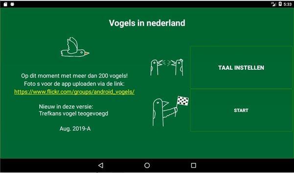 Vogels in Nederland screenshot 12