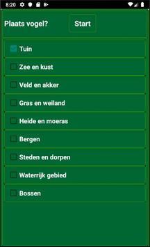 Vogels in Nederland screenshot 4