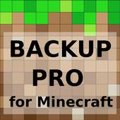 MCPE Backup PRO icon