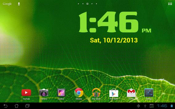 DIGI Clock Widget screenshot 10