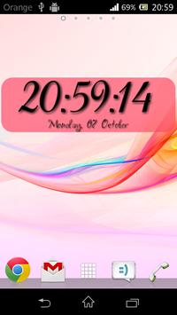 DIGI Clock Widget screenshot 2