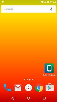 색상 및 그라디언트 배경 화면 스크린샷 1
