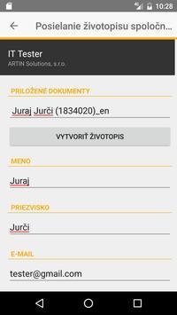 Profesia.sk screenshot 2