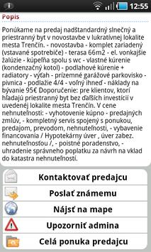 Reality od TopReality.sk screenshot 3
