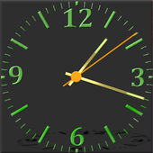 Nice Night Clock with Alarm and Light icon