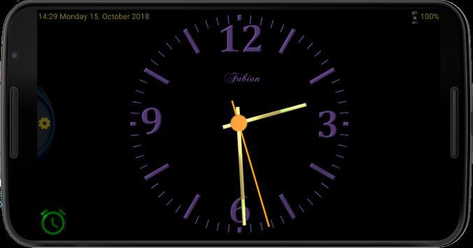 Nice Night Clock with Alarm and Light screenshot 5
