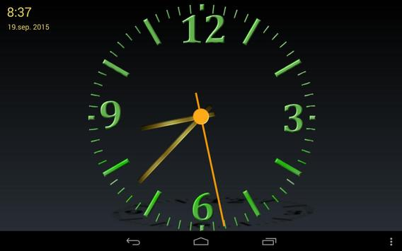 Nice Night Clock with Alarm and Light screenshot 8