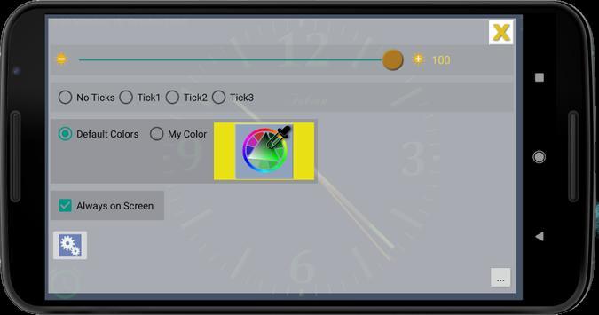 Nice Night Clock with Alarm and Light screenshot 9