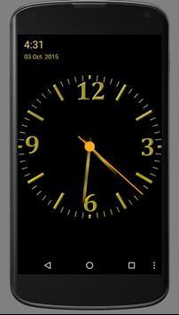 Nice Night Clock with Alarm and Light screenshot 2