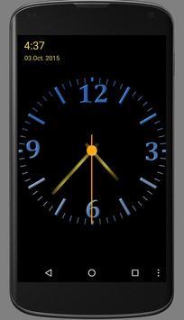 Nice Night Clock with Alarm and Light screenshot 3