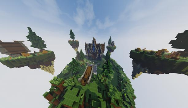 SkyBlock Survival maps for MCPE screenshot 9