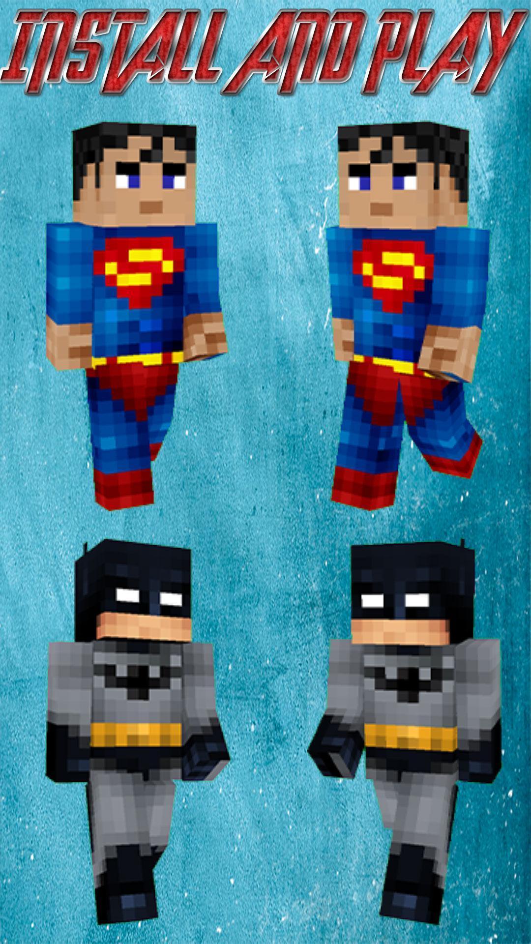скины супергероев для майнкрафт по никам #2
