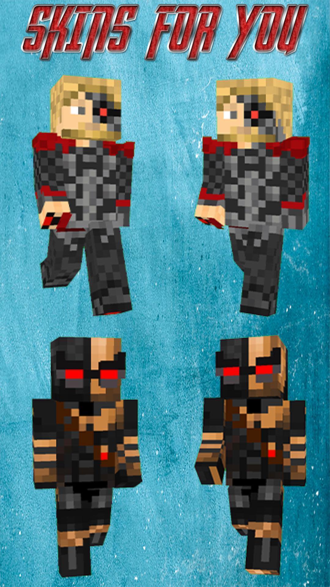 скины для майнкрафт супергерои 2d #5