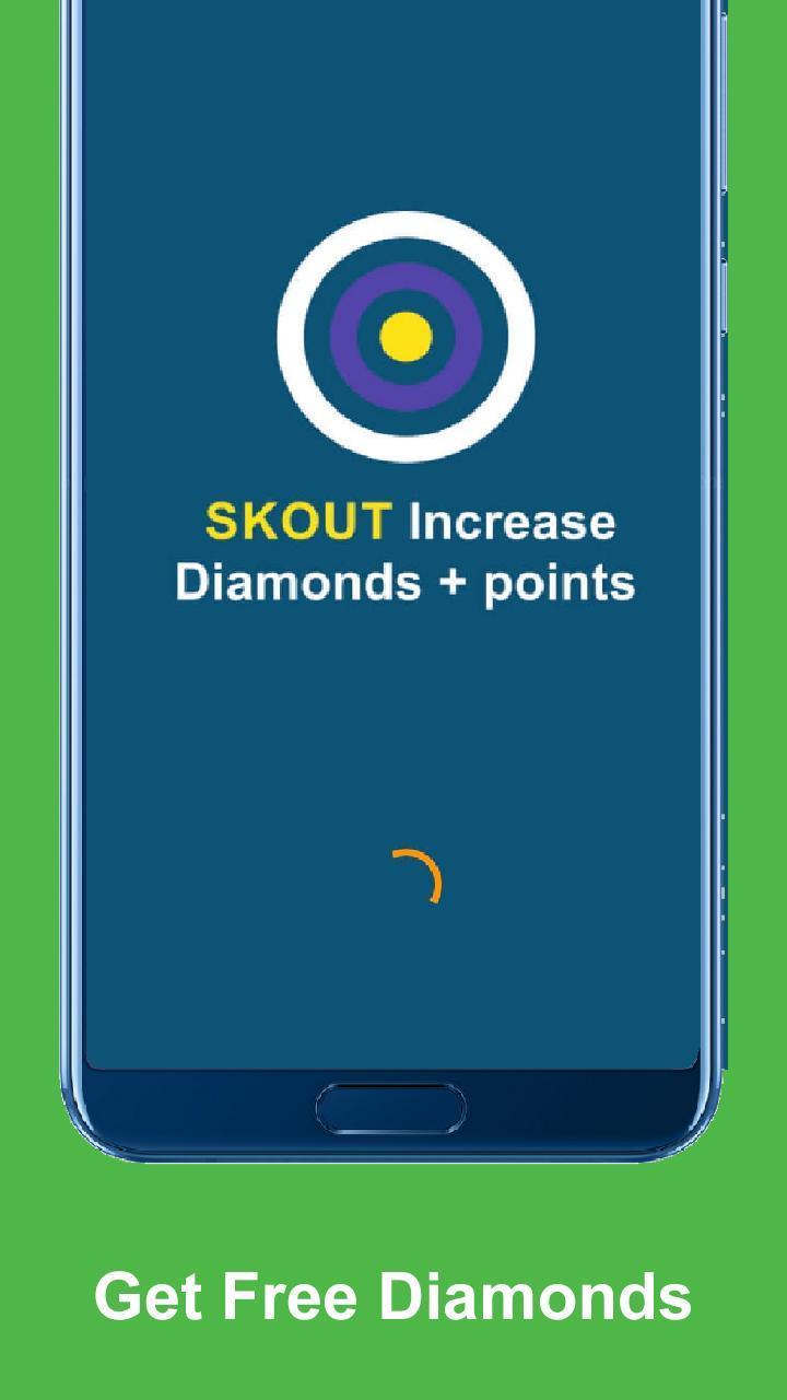 Famous for skout:Follower,Diamond & Point of skout for