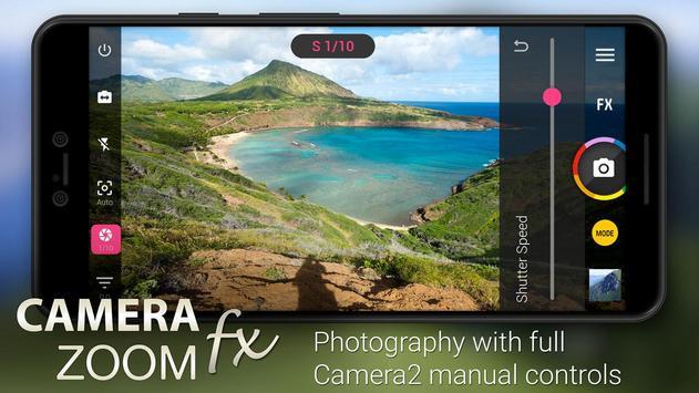 Camera ZOOM FX Premium Cartaz