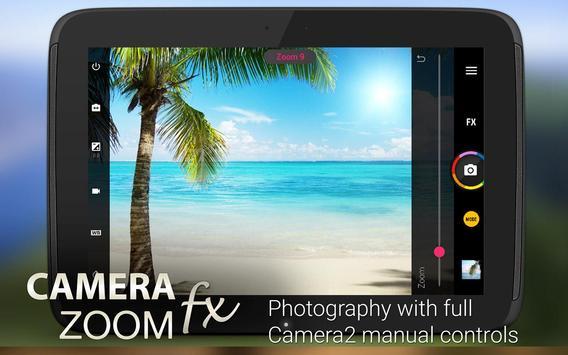 Camera ZOOM FX Premium imagem de tela 7