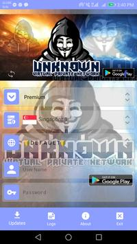 Unknown VPN poster