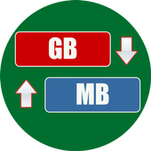 GB to MB Converter icon