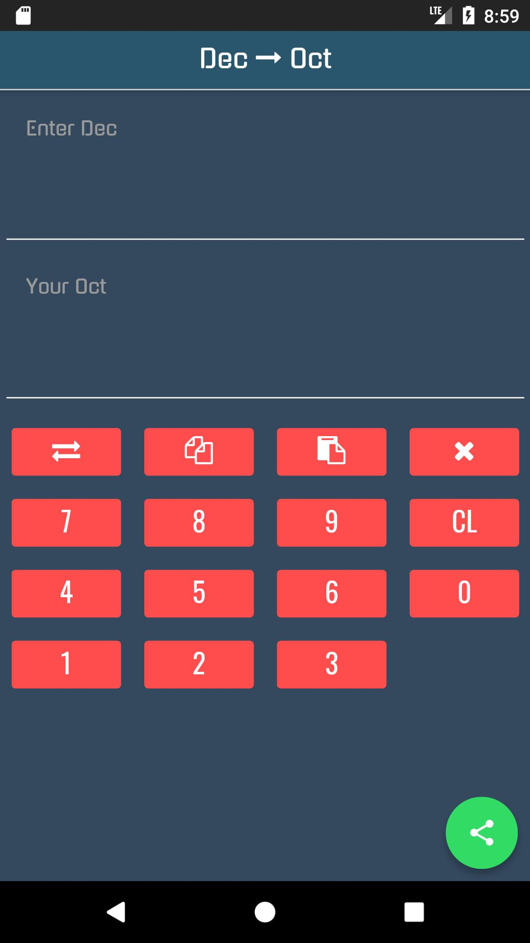 Decimal to Octal Converter for Android - APK Download