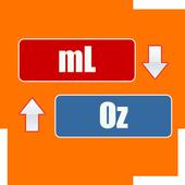 mL to Oz Conversion icon