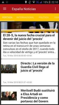 Spain News screenshot 1