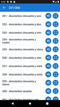 Learn numbers in spanish screenshot 2