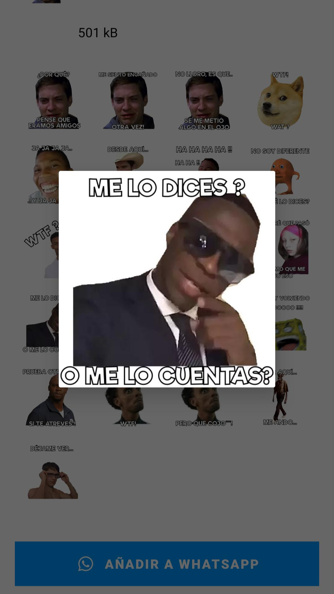 Memes With Phrases Stickers In Spanish Whatsapp For Android Apk Download