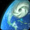 ikon Wind Map 🌪 Hurricane Tracker (3D Globe & Alerts)